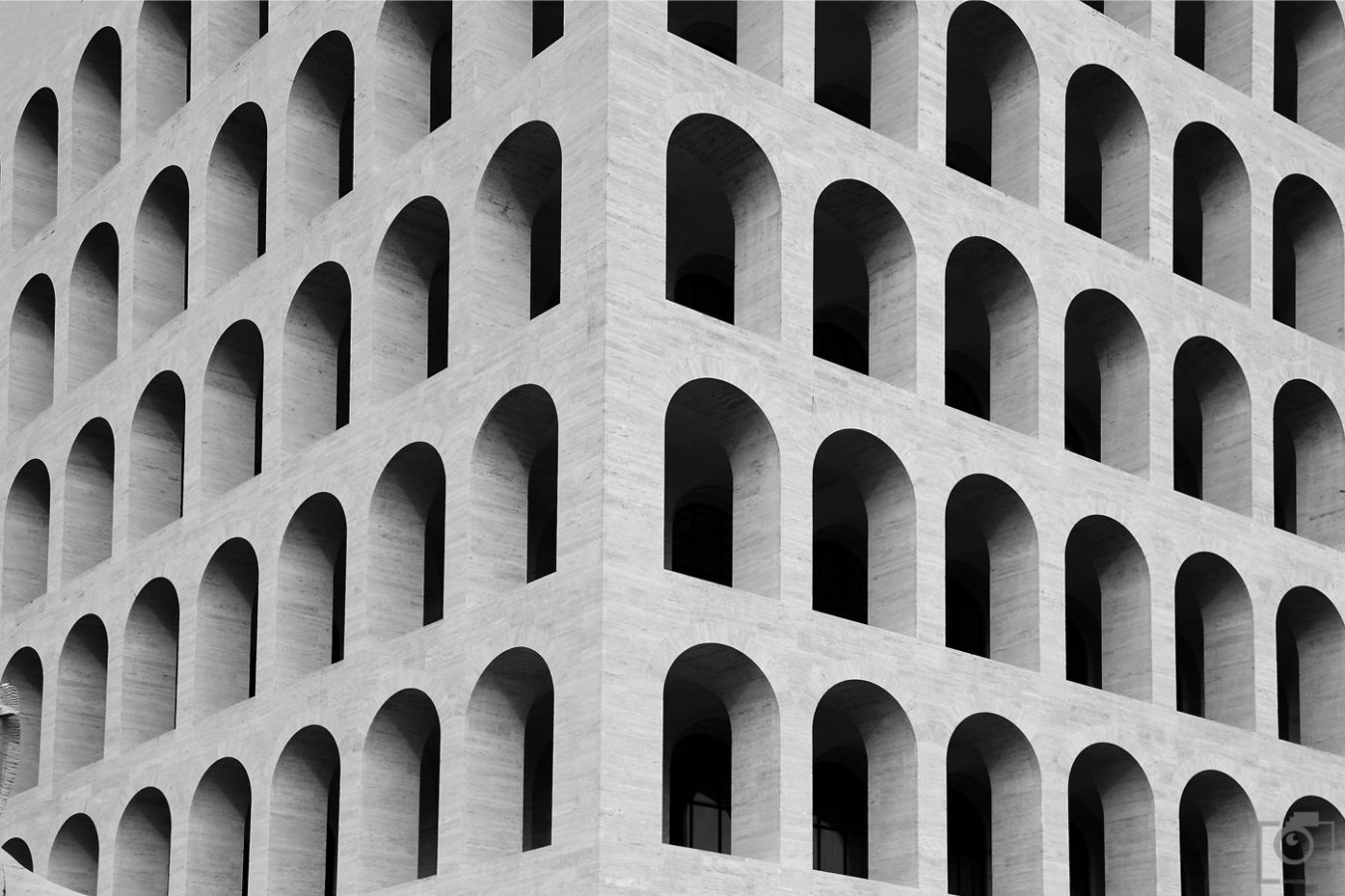 Square Colosseum Rome - Architecture Photography